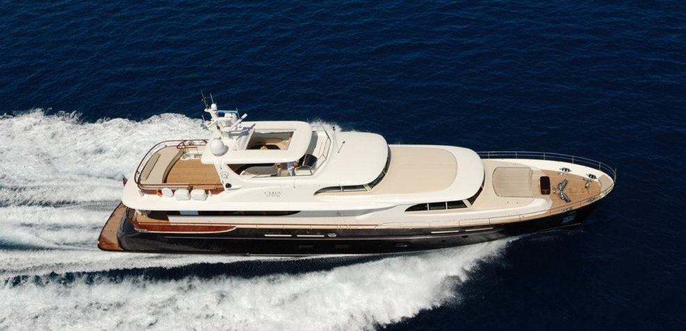 Cyrus One Charter Yacht