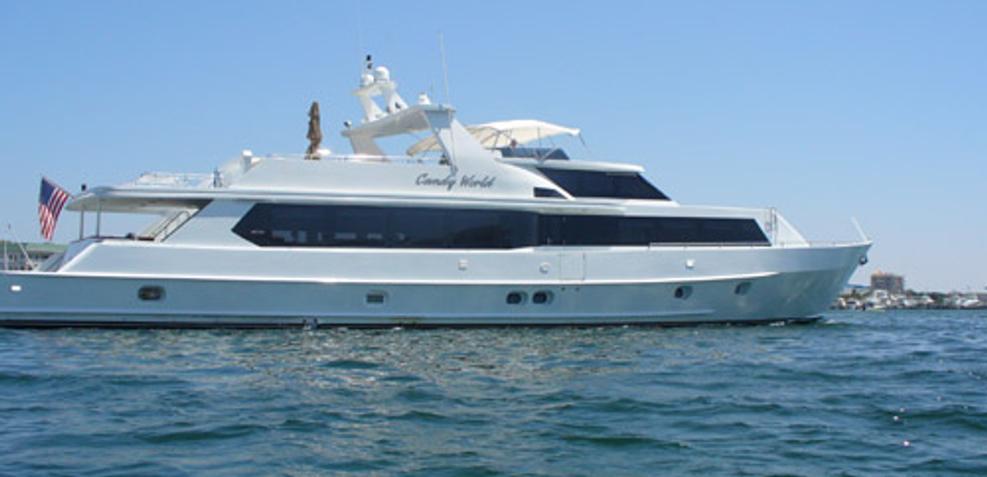Candy World Charter Yacht