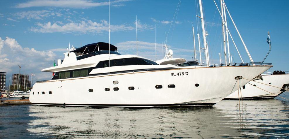 Lady Clotilde Charter Yacht