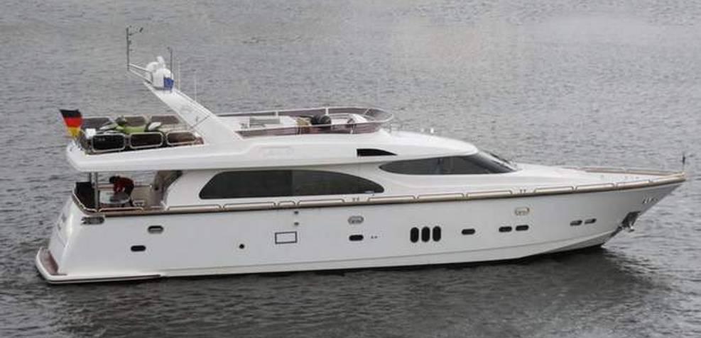 Elegance 74 Charter Yacht