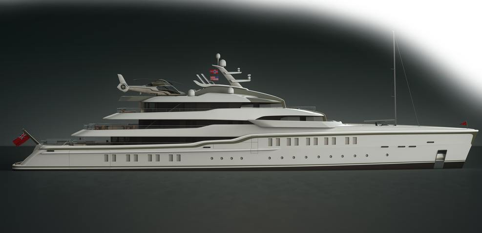 CRN 86 Charter Yacht