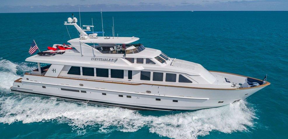 Inevitable Charter Yacht