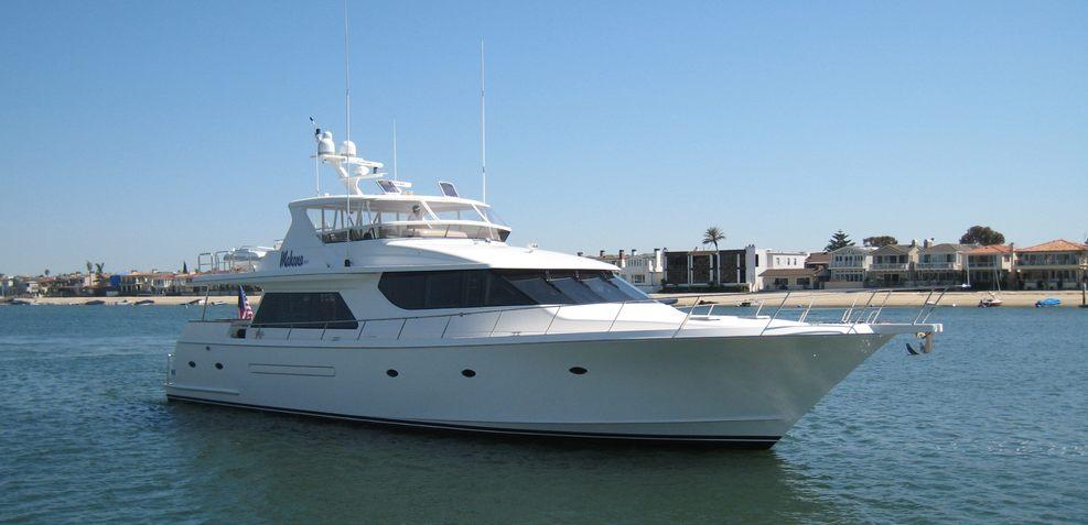 Mahana Charter Yacht