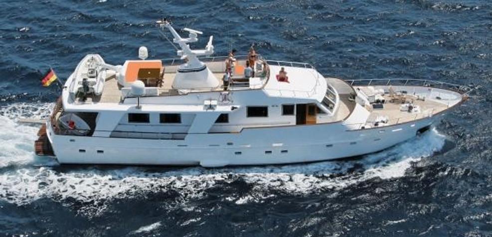 Sam Hay Charter Yacht