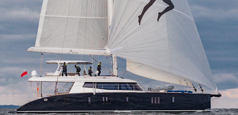 Diana Charter Yacht
