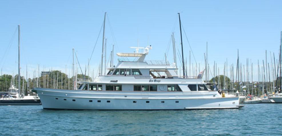 SeaBreeze Charter Yacht