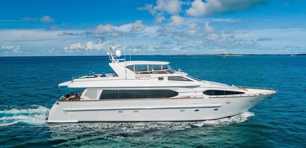 Quintessa Charter Yacht