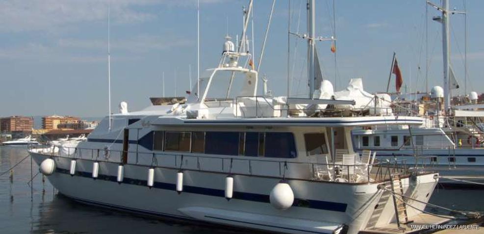 Carly Charter Yacht