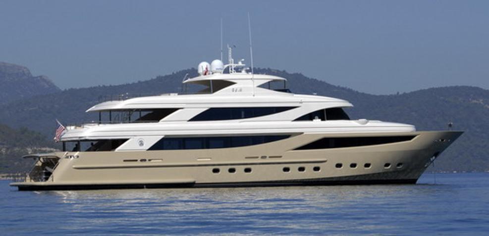 Steel Charter Yacht