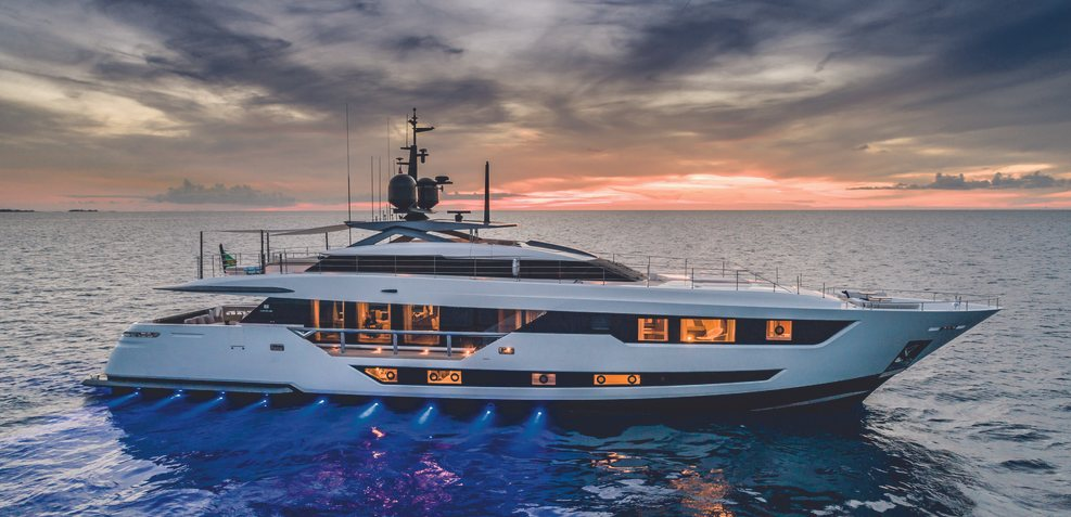 Custom Line 120/06 Charter Yacht