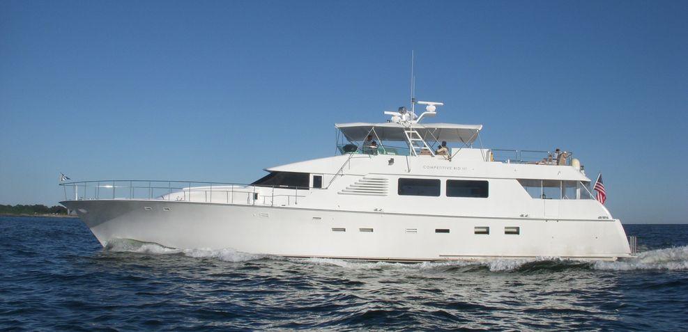 Competitive Bid III Charter Yacht
