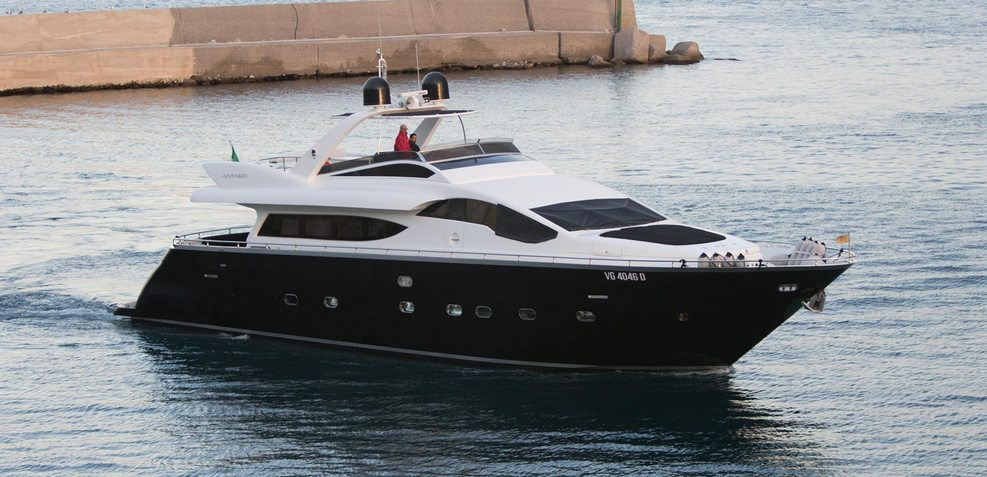 Seven Stars Charter Yacht