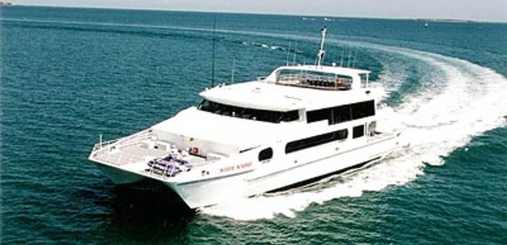 Custom Power Catamaran Charter Yacht