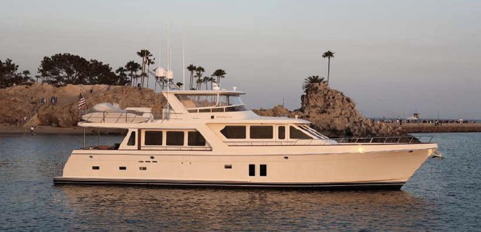 Pacific Time Charter Yacht