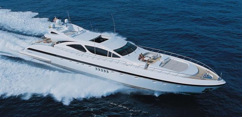 Mangusta 130/21 Charter Yacht