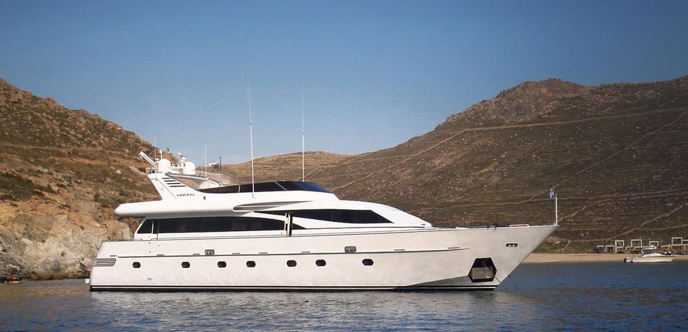 Hammerhead Charter Yacht
