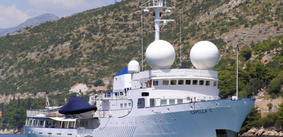 Capella C Charter Yacht