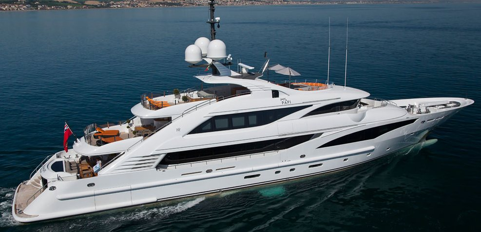 Saint Charter Yacht