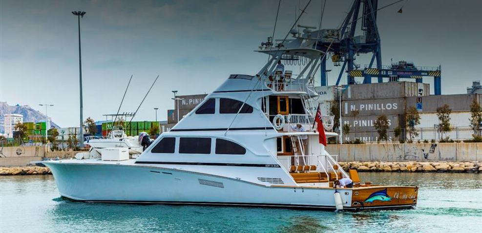 Oh My God Charter Yacht