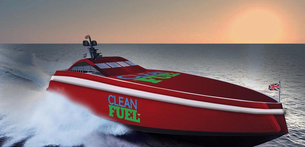 Team Britannia Charter Yacht