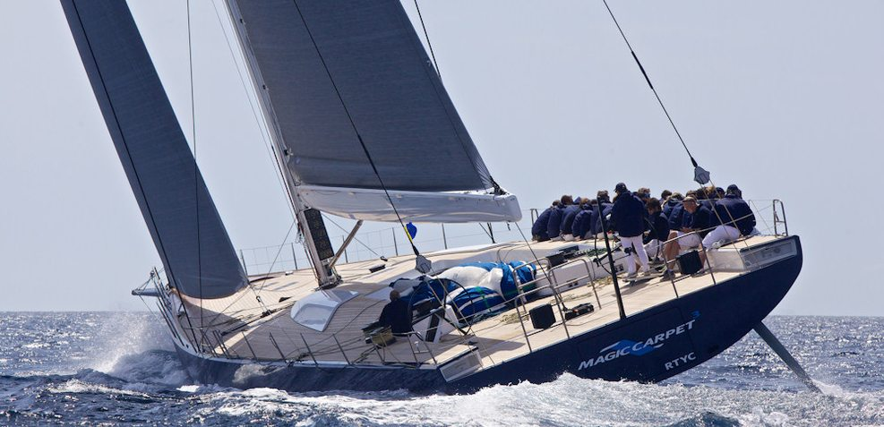 Magic Carpet Cubed Charter Yacht