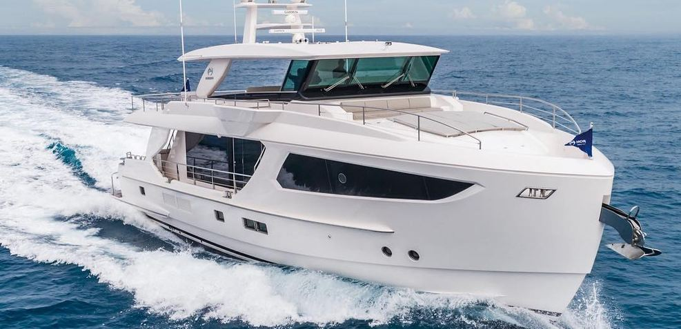 FD77/01 Open Bridge Charter Yacht