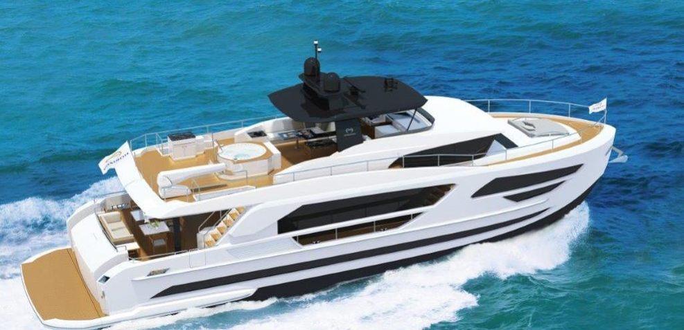 Horizon FD85/02 Charter Yacht