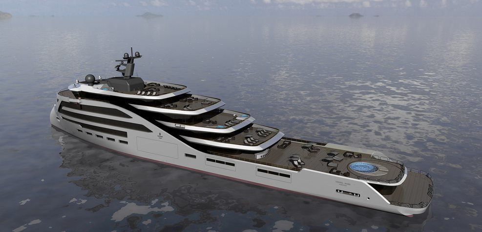 Ulstein X Bow Charter Yacht