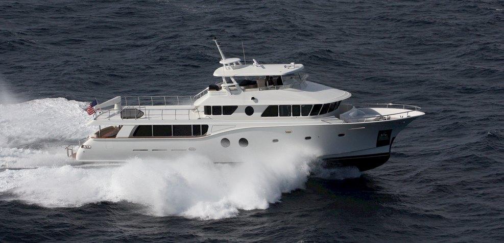 Adams 82 Charter Yacht