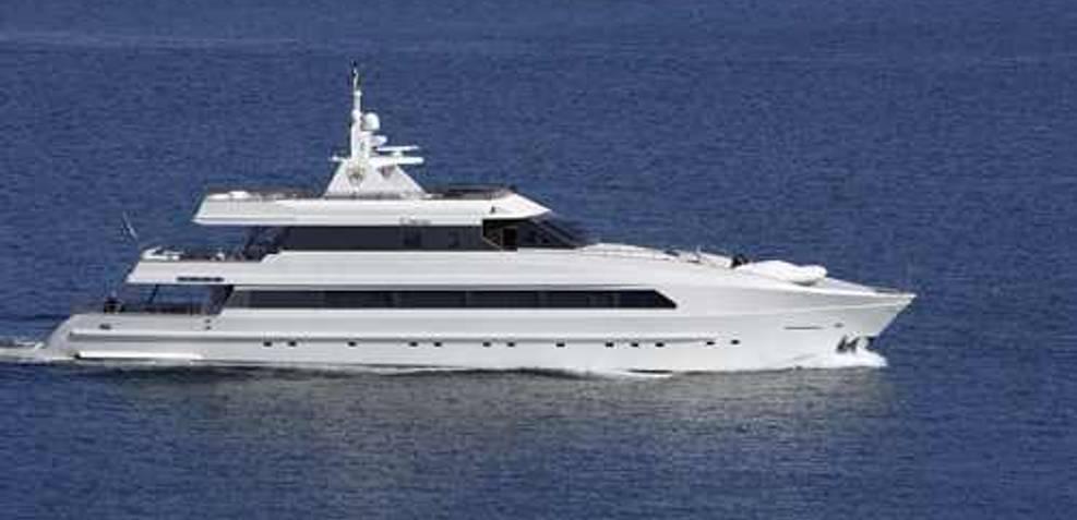 (SWJ) 131' Custom MY 40M 2008 Charter Yacht