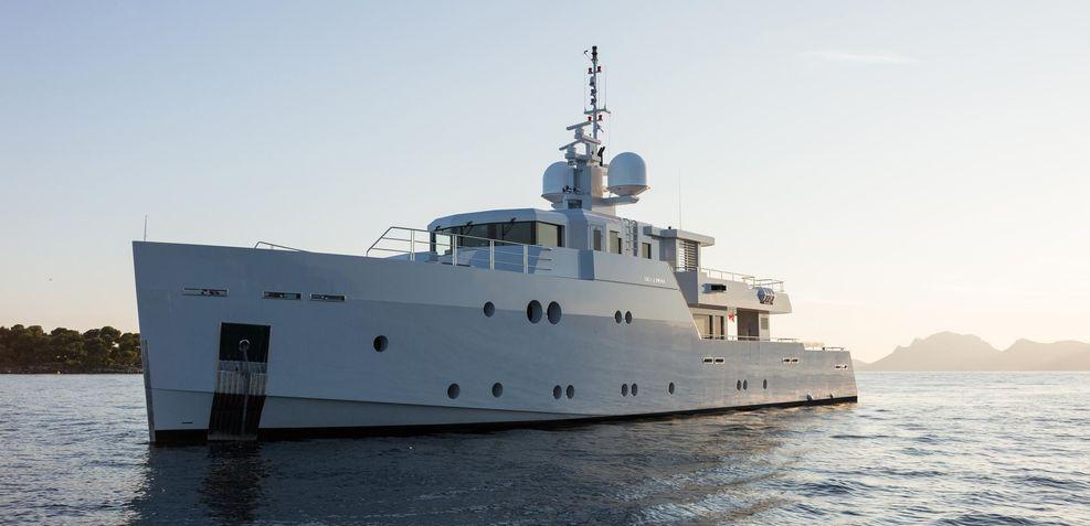 Sexy Fish Charter Yacht