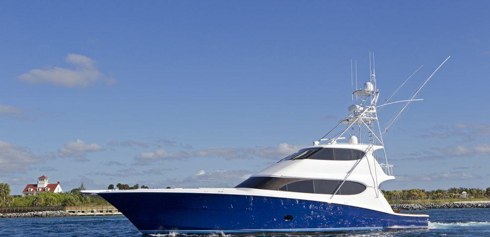 Fan Tail Charter Yacht