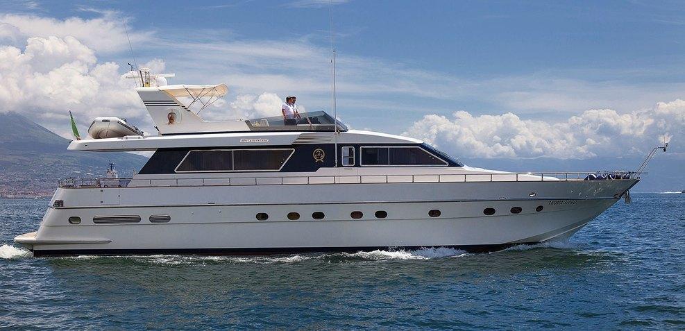 Bernadette Charter Yacht