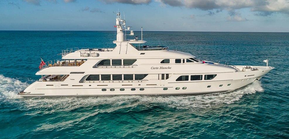Carte Blanche Charter Yacht