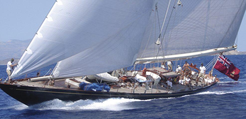 Shamrock V Charter Yacht