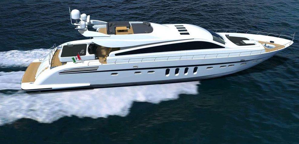 Italyachts 31m Charter Yacht