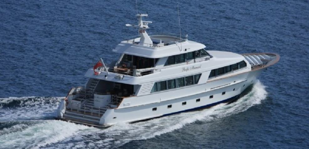 Pacific Mermaid Charter Yacht
