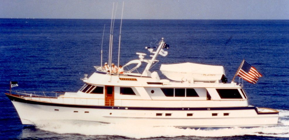 High Mileage Charter Yacht