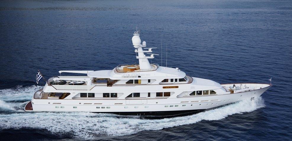 Ancallia Charter Yacht