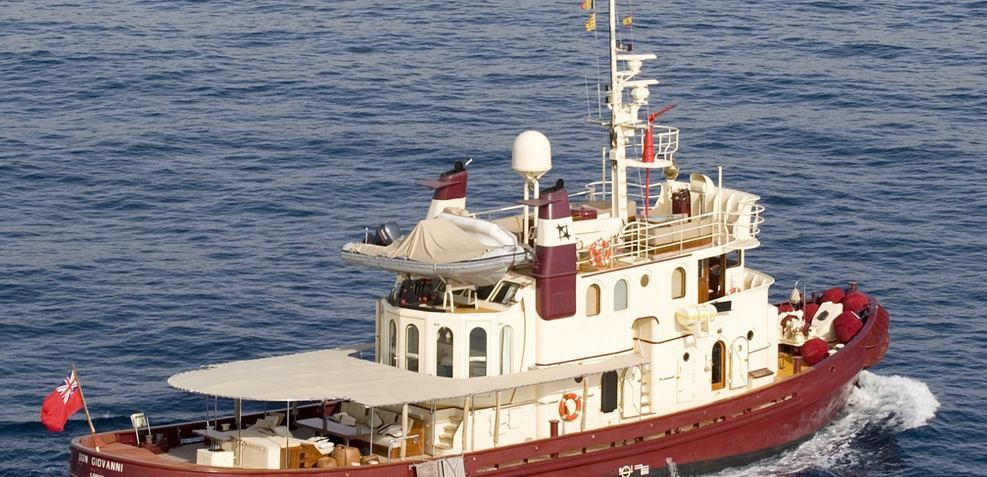 Don Giovanni Charter Yacht