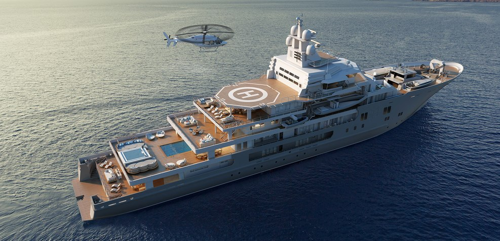 Andromeda Yacht Ex Ulysses Kleven Yacht Charter Fleet