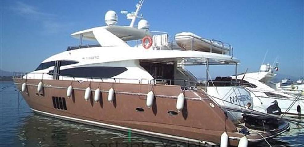 Princess 95 Charter Yacht
