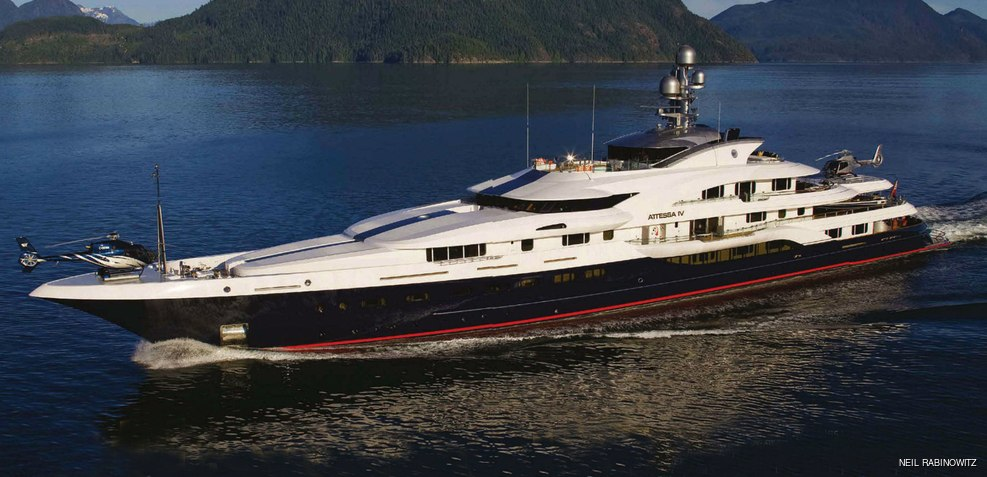 Attessa Iv Yacht Evergreen Shipyard Yacht Charter Fleet