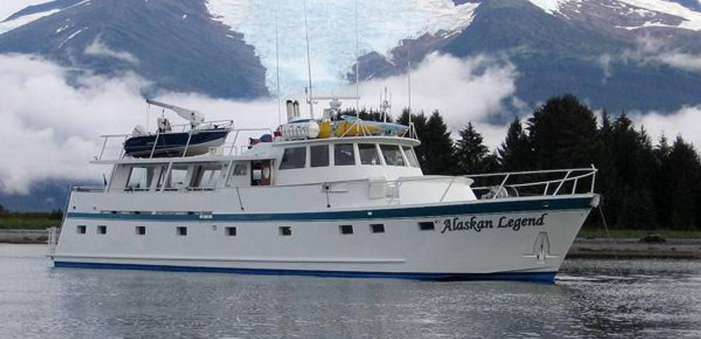 Alaskan Legend Charter Yacht