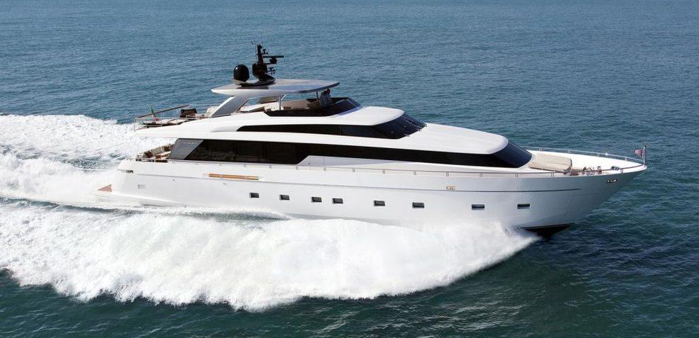 SanLorenzo SL104 / 610 Charter Yacht
