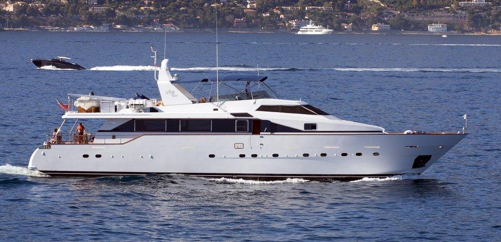 Moonraker II Charter Yacht
