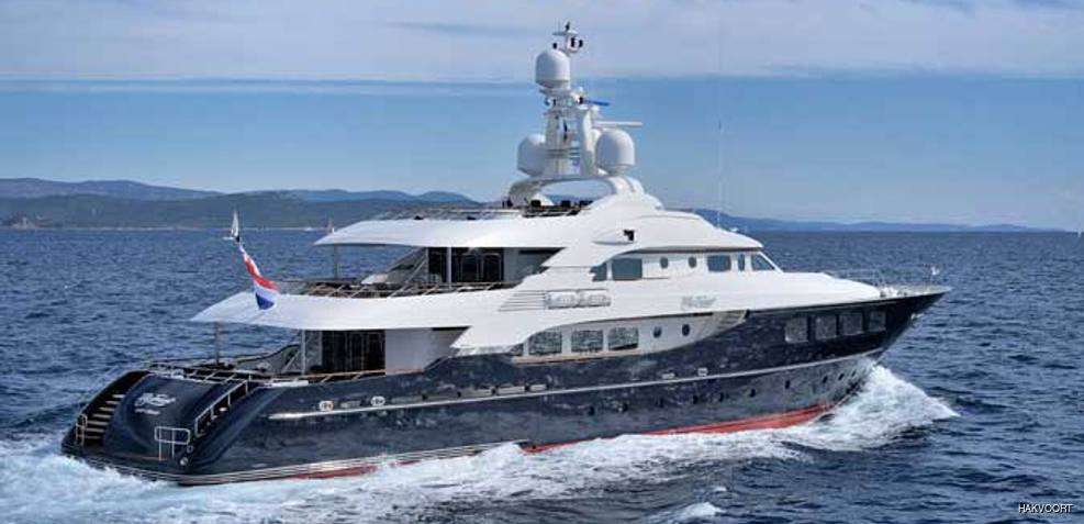 Awatea Charter Yacht
