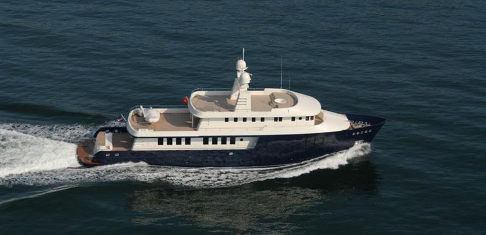 The Big Blue Charter Yacht