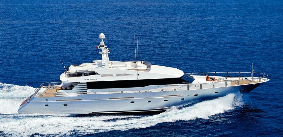 Evidence Charter Yacht