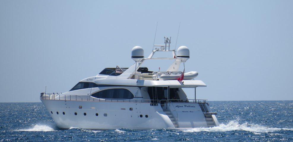 Afina Pallada Charter Yacht
